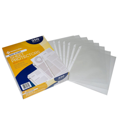 Heavyweight Sheet Protectors, Select Type (250 ct.) ( MM24712)