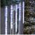 Cascading 520 LED Icicle Lights 20 Ct (689720378271)