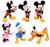 Disney Collectible Figurines (303243)