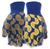 Lemon Jersey Knit Gloves