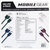 Mobile Gear Deluxe 4-Pack Premium Lightning & USB-C Charge & Sync Cables ( MG938 )