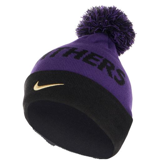 UoB Nike Bobble Beanie - Purple / Black