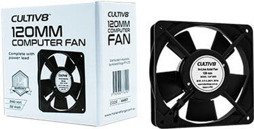 Cultiv8 120mm Computer fan
