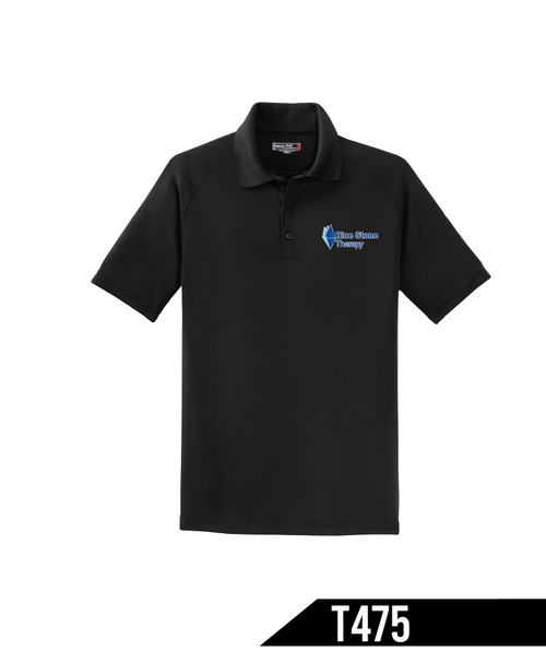 When the heat is on, this shirt helps you keep cool by expertly managing moisture - wicking it away from your skin so you stay drier, longer. Odor-fighting properties help minimize odor.
