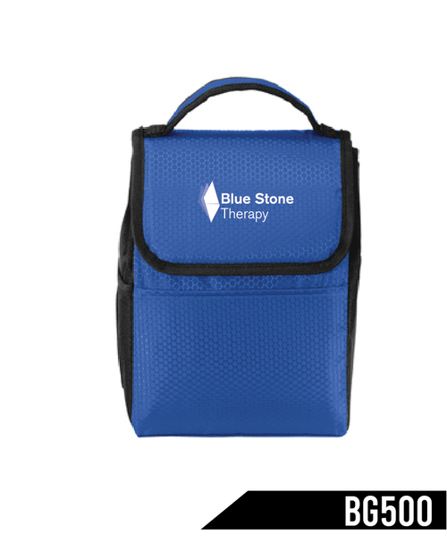 Forget the brown bag. Take your lunch in this cooler that has a heat-sealed, water-resistant lining for easy cleanup.