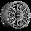 Rotiform OZR 19x8.5 45MM 5x100/5x112 MATTE ANTHRACITE R158198514+45