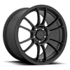 Motegi MR146 SS6 17x8.5 42MM 5x112 SATIN BLACK MR14678557742