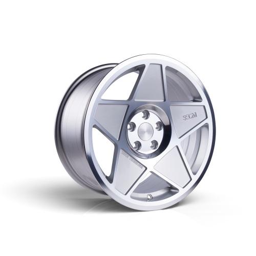 3sdm 0.05 16x8 25MM 4x100 Silver/Cut 0.05:S16804100SH00525