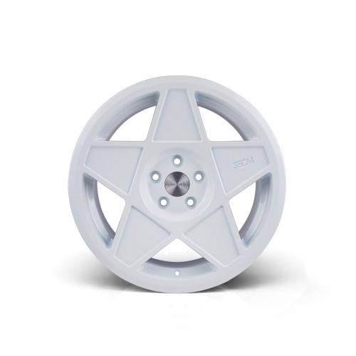 3sdm 0.05 16x8 25MM 4x100 White/Cut 0.05:S16804100WA00525