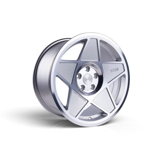 3sdm 0.05 18x8.5 35MM 5x100 Silver/Cut 0.05:S18855100SH00535