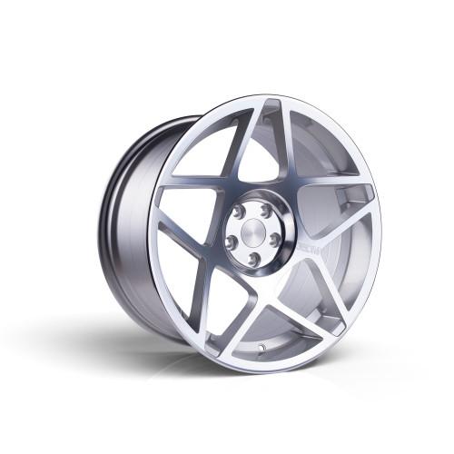 3sdm 0.08 20x9 25MM 5x112 Silver/Cut 0.08:S20905112SH00825
