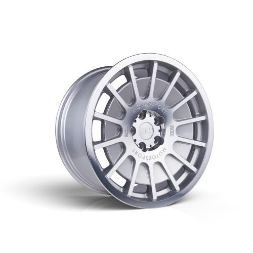 3sdm 0.66 18x8.5 35MM 5x100 Silver / mirror polished face 0.66:S18855100SH06635