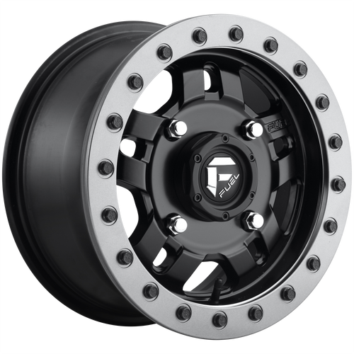 Fuel Utv ANZA BL - OFF ROAD ONLY 15x7 13MM 4x137 MATTE BLACK D9171570A643