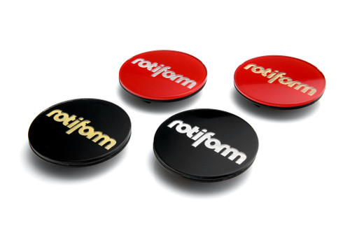 Rotiform Hex Logo Full Caps