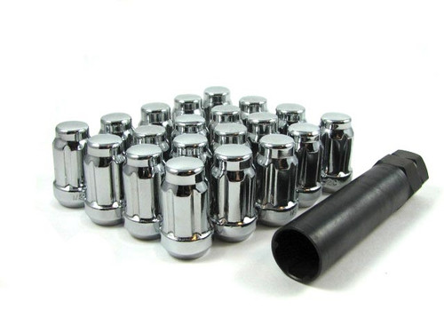 Gorilla Spline Lug Nuts 12x1.25 Cone Seat QTY 24