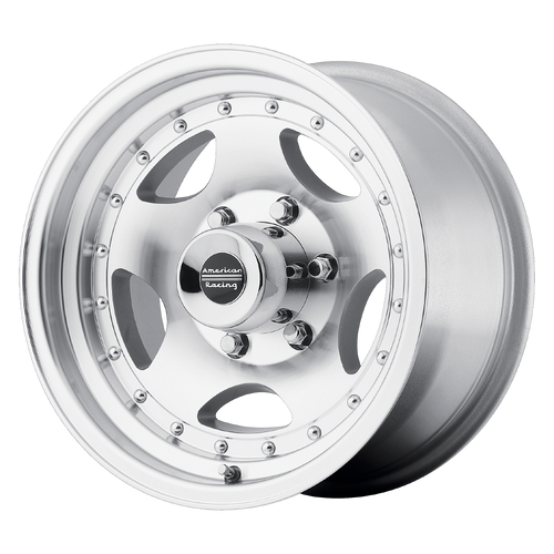 American Racing AR23 14x7 -6MM 5x114.3 MACHINED W/ CLEAR COAT AR234765