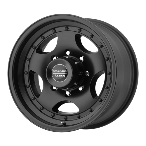 American Racing AR23 14x7 -6MM 5x114.3 SATIN BLACK W/ CLEAR COAT AR234765B