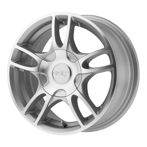 American Racing AR919 ESTRELLA 2 14x6 35MM 5x100/5x114.3 SILVER MACHINED AR91946031435