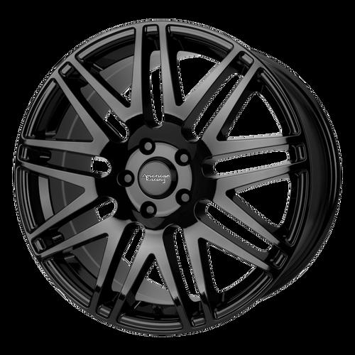 American Racing AR928 17x7 40MM 5x105 GLOSS BLACK AR92877010340