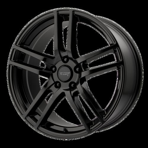 American Racing AR929 16x7 45MM 5x105 GLOSS BLACK AR92967010345