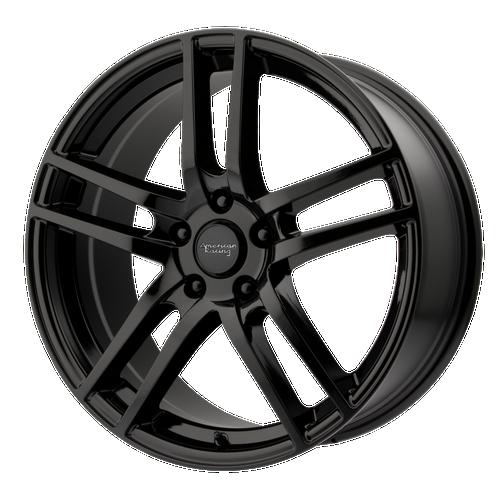 American Racing AR929 17x7 45MM 5x105 GLOSS BLACK AR92977010345