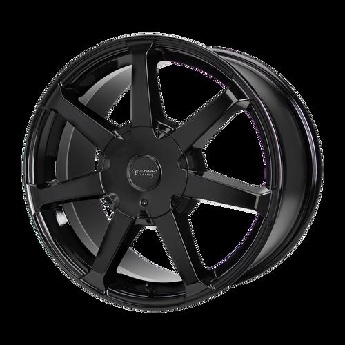 American Racing AR930 16x7 40MM 5x100/5x105 GLOSS BLACK AR93067095340