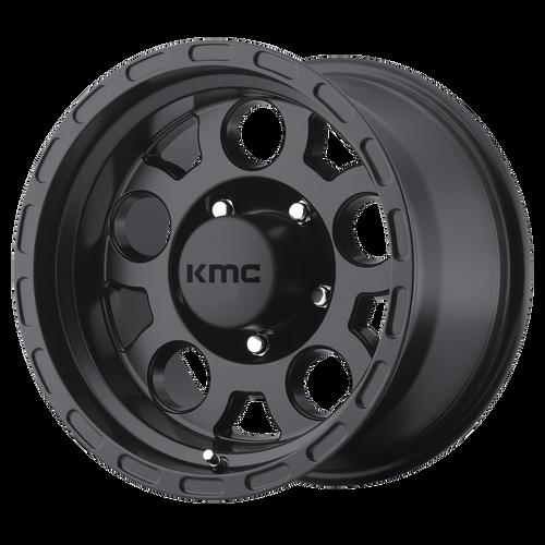 Kmc KM522 ENDURO 15x9 -12MM 5x114.3 MATTE BLACK KM52259012712N