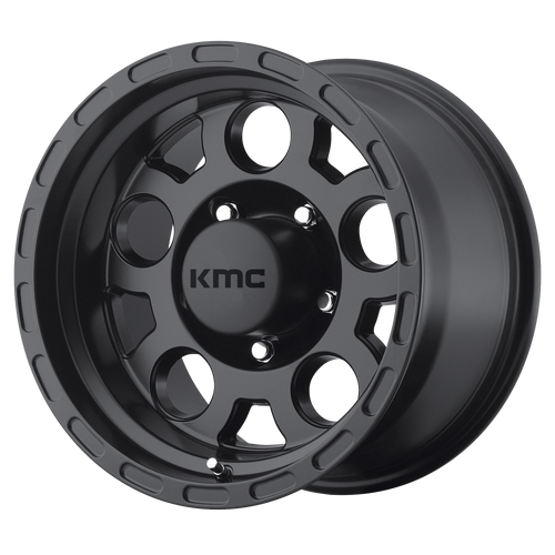Kmc KM522 ENDURO 16x9 -12MM 5x135 MATTE BLACK KM52269013712N