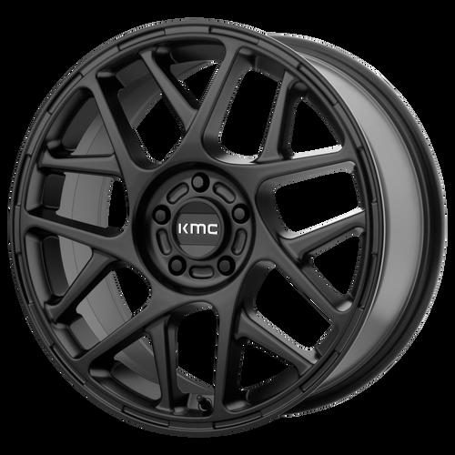 Kmc KM708 BULLY 16x7.5 30MM 5x110 SATIN BLACK KM70867542730