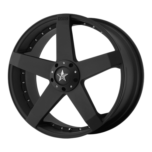 Kmc KM775 ROCKSTAR CAR 18x8 42MM 5x110/5x115 MATTE BLACK KM77588021742