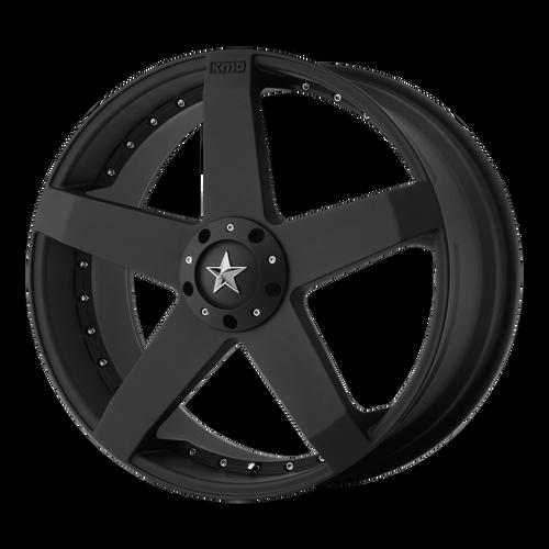 Kmc KM775 ROCKSTAR CAR 18x8 42MM 4x100/4x114.3 MATTE BLACK KM77588098742