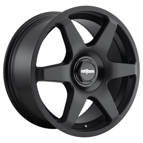 Rotiform SIX 18x8.5 35MM 5x100/5x112 MATTE BLACK R113188514+35