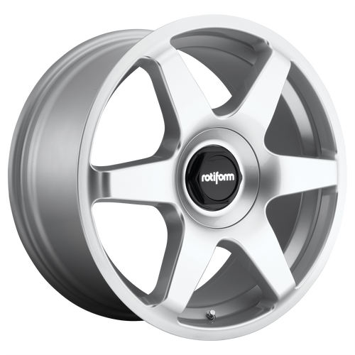 Rotiform SIX 18x8.5 35MM 5x100/5x112 GLOSS SILVER R114188514+35