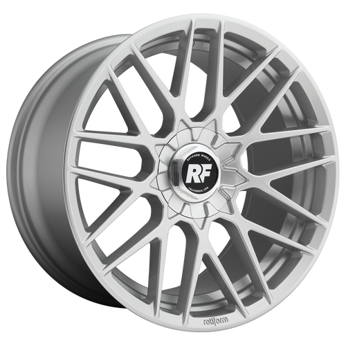 Rotiform RSE 19x10 35MM 5x100/5x112 GLOSS SILVER R1401900F3+35