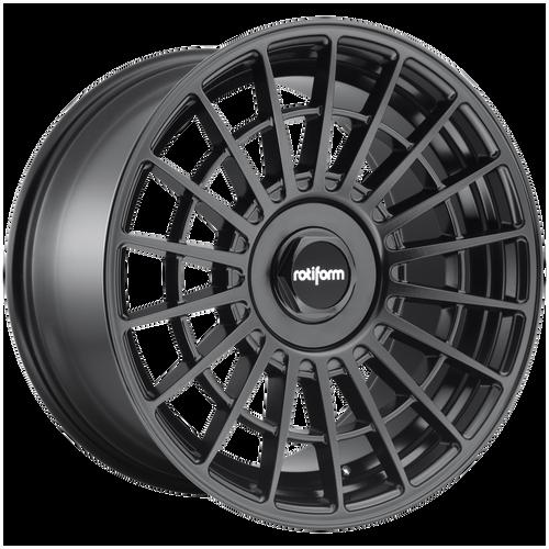 Rotiform LAS-R 17x8 30MM 4x100/4x114.3 MATTE BLACK R142178001+30