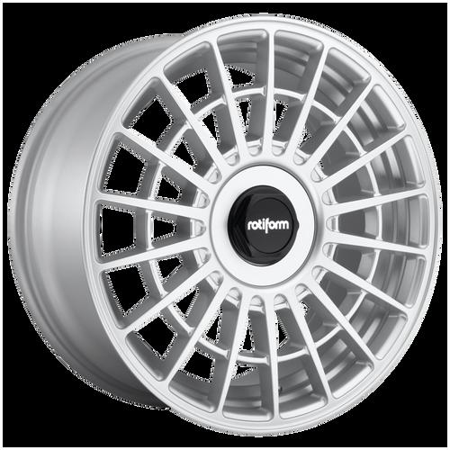 Rotiform LAS-R 17x8 40MM 4x100/4x114.3 GLOSS SILVER R143178001+40