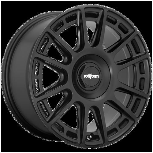 Rotiform OZR 20x9 35MM 5x112/5x114.3 MATTE BLACK R159209007+35