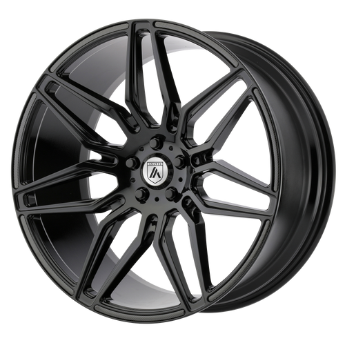 Asanti Black ABL-11 SIRIUS 20x8.5 38MM 5x114.3 GLOSS BLACK ABL11-20851238BK