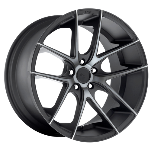 Niche TARGA 18x8 40MM 5x110 MATTE BLACK DOUBLE DARK TINT M130188051+40