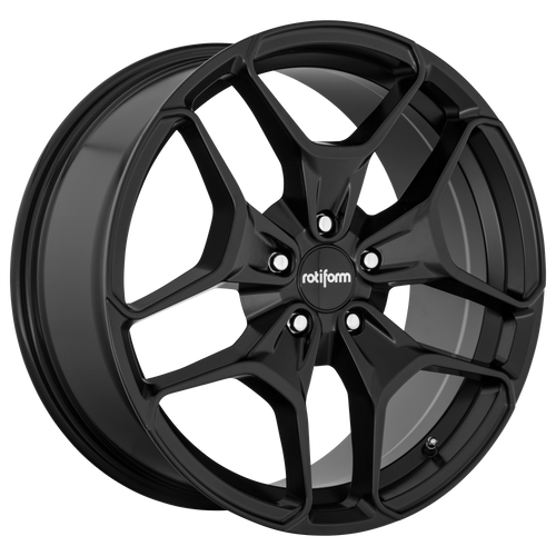 Rotiform HUR 19x8.5 45MM 5x112 MATTE BLACK R171198543+45