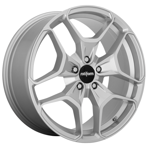 Rotiform HUR 19x8.5 45MM 5x112 MACHINED SILVER R173198543+45