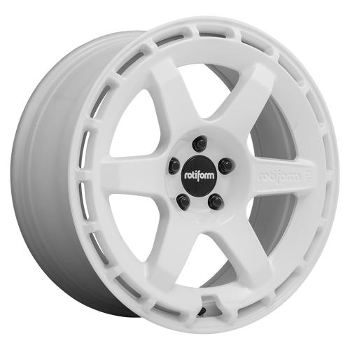 Rotiform KB1 19x8.5 42MM 5x108 GLOSS WHITE R183198531+42