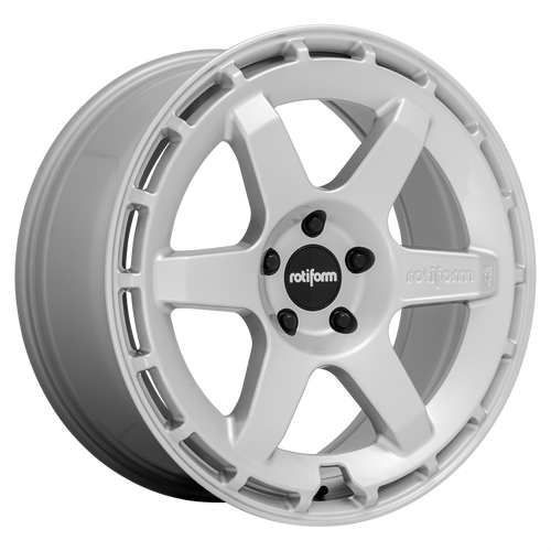 Rotiform KB1 19x8.5 35MM 5x120 GLOSS SILVER R184198521+35