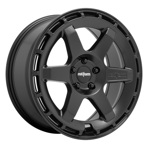 Rotiform KB1 19x8.5 42MM 5x108 MATTE BLACK R186198531+42
