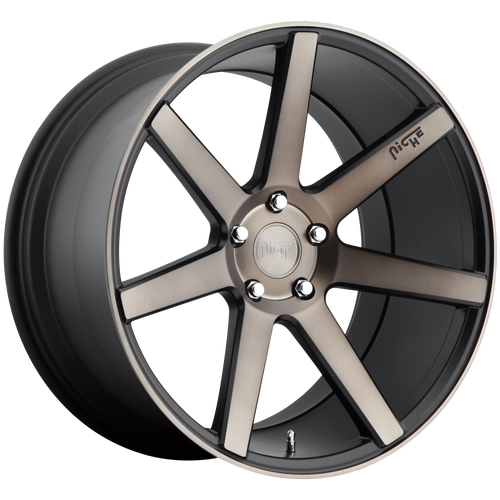 Niche VERONA 17x8 40MM 5x110 MATTE BLACK MACHINED M150178051+40