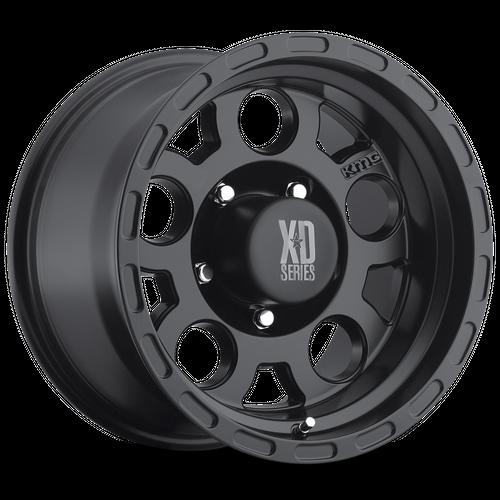 Xd XD122 ENDURO 15x9 -12MM 5x139.7 MATTE BLACK XD12259055712N