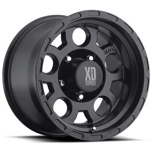 Xd XD122 ENDURO 16x9 -12MM 5x135 MATTE BLACK XD12269013712N
