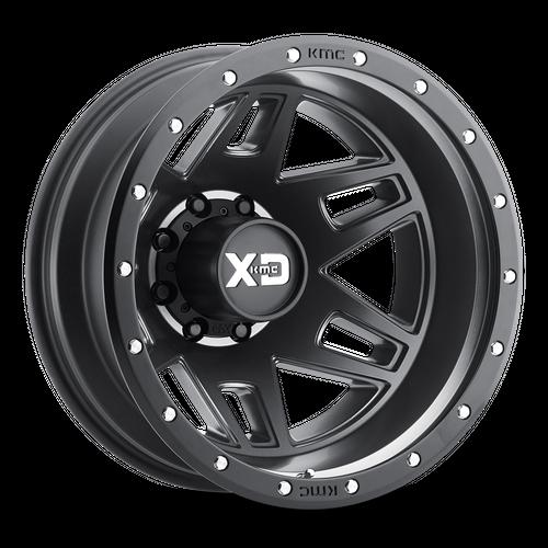 Xd XD130 MACHETE DUALLY 17x6.5 -140MM 8x210 SATIN BLACK XD130765897140N