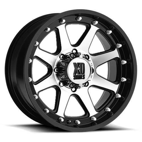 Xd XD798 ADDICT 16x9 -12MM 6x139.7 MATTE BLACK MACHINED XD79869068512N