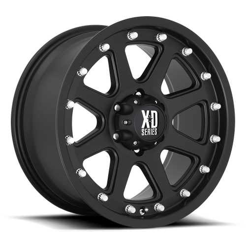Xd XD798 ADDICT 16x9 -12MM 8x165.1 MATTE BLACK XD79869080712N
